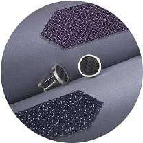 NAV1 Tie Cufflinks