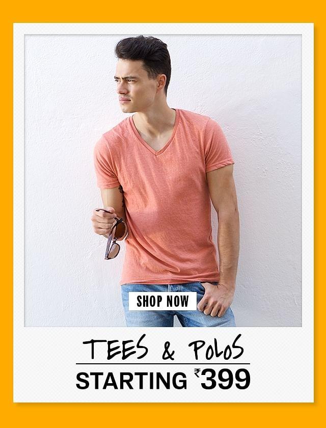 20190913 Homepage Category 2 Tees n Polo T shirts