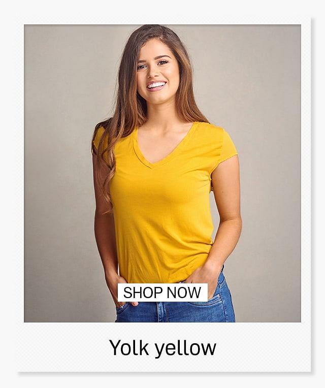 17FEB2020 HP WoMen TOP TRENDS FOR 2020 Yolk yellow