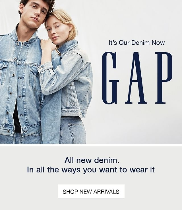 GAP India - Buy Clothes and Accessories Online - NNNOW