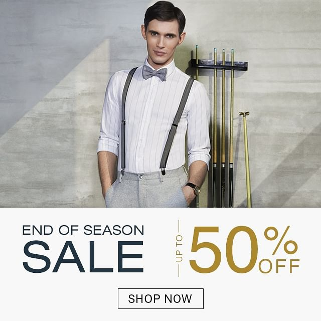 Arrow Official Online Store in India | Buy Clothes and