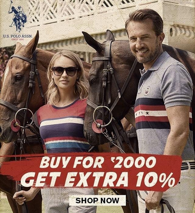 Brand U S  Polo AssnBuy for 2000 get extra 10