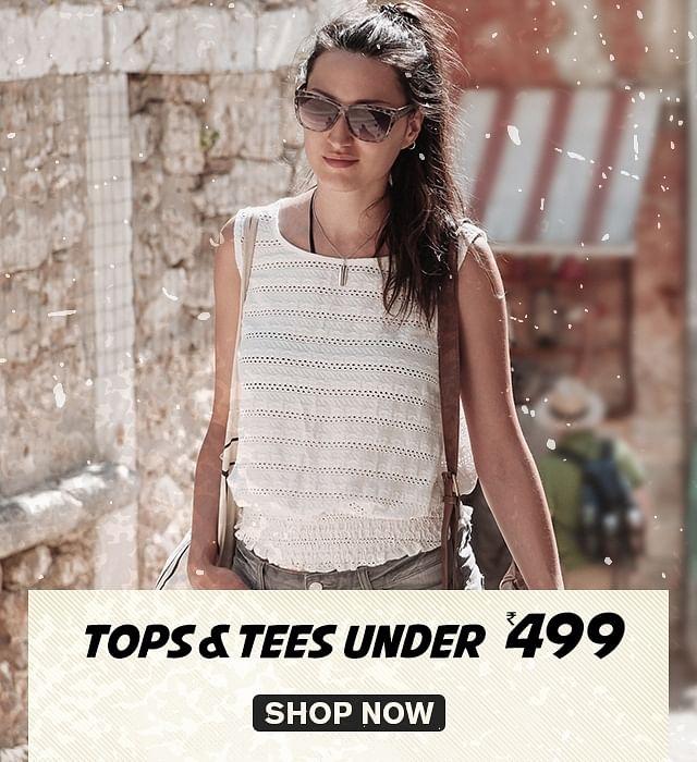 TopsTees under 499